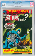 Bronze Age (1970-1979):Superhero, The Brave and the Bold #95 Batman and Plastic Man (DC, 1971) CGC NM/MT 9.8 Off-white to white pages....
