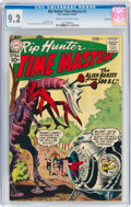 Silver Age (1956-1969):Science Fiction, Rip Hunter... Time Master #2 Savannah Pedigree (DC, 1961) CGC NM- 9.2 Cream to off-white pages....