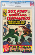 Silver Age (1956-1969):War, Sgt. Fury and His Howling Commandos #22 (Marvel, 1965) CGC NM/MT 9.8 White pages....