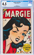 Golden Age (1938-1955):Humor, Margie Comics #36 (Marvel, 1947) CGC VG+ 4.5 Cream to off-white pages....