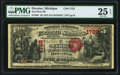 Decatur, MI - $5 1875 Fr. 401 The First National Bank Ch. # 1722 PMG Very Fine 25 EPQ