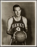 Basketball Collectibles:Photos, c. 1950s Ed Macauley Photograph - Image Used for his 1957-58 Topps Rookie Card....