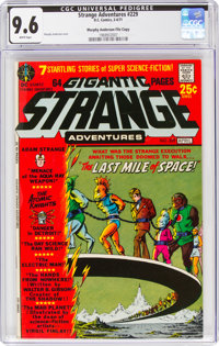 Strange Adventures #229 Murphy Anderson File Copy (DC, 1971) CGC NM+ 9.6 White pages