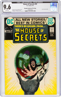 House of Secrets #99 Murphy Anderson File Copy (DC, 1972) CGC NM+ 9.6 White pages