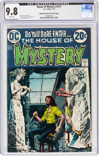 House of Mystery #215 Murphy Anderson File Copy (DC, 1973) CGC NM/MT 9.8 White pages