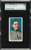 Baseball Cards:Singles (Pre-1930), 1910 E104-2 Nadja Caramels George Gibson SGC 60 EX 5 - Pop Two, None Higher! ...