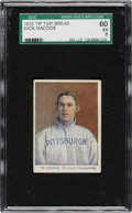 Baseball Cards:Singles (Pre-1930), 1910 D322 Tip Top Bread Nick Maddox SGC 60 EX 5 - Pop Two, One Higher....
