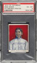 Baseball Cards:Singles (Pre-1930), 1910 D322 Tip-Top Bread Mike Simon PSA EX-MT 6 - Pop One, None Higher! ...