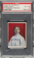 Baseball Cards:Singles (Pre-1930), 1910 D322 Tip-Top Bread Kirby White PSA EX-MT 6 - Pop One, None Higher! ...