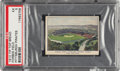 Baseball Cards:Singles (Pre-1930), 1910 D322 Tip-Top Bread Forbes Field PSA EX 5 - Pop Two, One Higher....