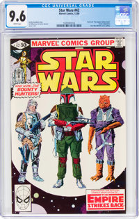 Star Wars #42 (Marvel, 1980) CGC NM+ 9.6 White pages