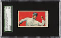Baseball Cards:Singles (Pre-1930), 1909-11 E90-1 American Caramel Willie Keeler (Throwing) SGC 70 EX+ 5.5 - Pop One, None Higher! ...