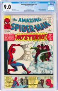 Silver Age (1956-1969):Superhero, The Amazing Spider-Man #13 (Marvel, 1964) CGC VF/NM 9.0 White pages....