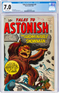 Silver Age (1956-1969):Science Fiction, Tales to Astonish #24 (Marvel, 1961) CGC FN/VF 7.0 Off-white pages....