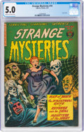 Golden Age (1938-1955):Horror, Strange Mysteries #10 (Superior Comics, 1953) CGC VG/FN 5.0 Cream to off-white pages....