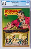 Golden Age (1938-1955):Horror, Dynamic Comics #19 (Chesler, 1946) CGC VG/FN 5.0 Off-white to white pages....