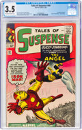 Silver Age (1956-1969):Superhero, Tales of Suspense #49 (Marvel, 1964) CGC VG- 3.5 Off-white to white pages....