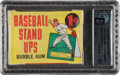 Baseball Cards:Unopened Packs/Display Boxes, 1964 Topps Baseball Stand-Up 1-Cent Unopened Wax Pack GAI Perfect 10. ...