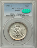 1937-D 50C Texas MS67 PCGS. CAC. PCGS Population: (183/4). NGC Census: (98/8). CDN: $430 Whsle. Bid for problem-free NGC...