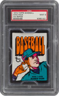 Baseball Cards:Unopened Packs/Display Boxes, 1972 Topps Baseball (3rd Series) Unopened Wax Pack PSA Mint 9. ...