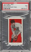 """Baseball Cards:Singles (Pre-1930), 1910 E98 """"Set of 30"""" Red Dooin (Red) PSA NM 7 - Black Swamp Find. ..."""