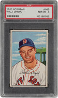 Baseball Cards:Singles (1950-1959), 1952 Bowman Walt Dropo #169 PSA NM-MT 8....