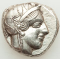 Ancients:Greek, Ancients: ATTICA. Athens. Ca. 440-404 BC. AR tetradrachm (24mm, 17.16 gm, 7h). XF, brushed....