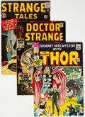 Silver Age (1956-1969):Superhero, Marvel Silver Age Group of 4 (Marvel, 1960s).... (Total: 4 Comic Books)