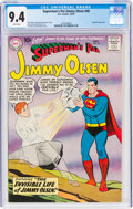 Silver Age (1956-1969):Superhero, Superman's Pal Jimmy Olsen #40 (DC, 1959) CGC NM 9.4 White pages....