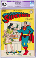 Golden Age (1938-1955):Superhero, Superman #36 (DC, 1945) CGC Apparent VF+ 8.5 White pages....