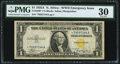 Small Size:World War II Emergency Notes, Fr. 2306* $1 1935A North Africa Silver Certificate Star. PMG Very Fine 30.. ...