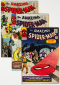 Silver Age (1956-1969):Superhero, The Amazing Spider-Man Group of 5 (Marvel, 1965) Condition: Average VG+.... (Total: 5 )