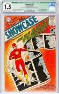 Silver Age (1956-1969):Superhero, Showcase #4 The Flash - Married Pages (DC, 1956) CGC Qualified FR/GD 1.5 Cream to off-white pages....
