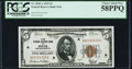 Fr. 1850-A $5 1929 Federal Reserve Bank Note. PCGS Choice About New 58PPQ