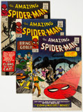 Silver Age (1956-1969):Superhero, The Amazing Spider-Man Group of 5 (Marvel, 1965-66).... (Total: 5 )