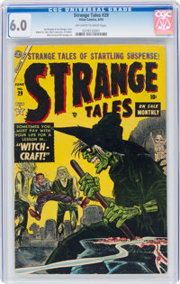 Strange Tales #29 (Atlas, 1954) CGC FN 6.0 Off-white to white pages