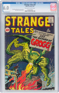 Silver Age (1956-1969):Science Fiction, Strange Tales #87 (Marvel, 1961) CGC FN 6.0 Off-white to white pages....