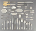 Silver & Vertu, A Three Hundred Forty-Three-Piece Gianmaria Buccellati Empire Pattern Silver Flatware Service for Twenty Four in O... (Total: 343 )