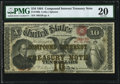 Fr. 190b $10 1864 Compound Interest Treasury Note PMG Very Fine 20