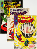 Silver Age (1956-1969):Superhero, The Amazing Spider-Man #61-70 Group (Marvel, 1968-69) Condition: Average FN/VF.... (Total: 10 )