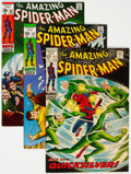 Silver Age (1956-1969):Superhero, The Amazing Spider-Man Group of 8 (Marvel, 1969-71) Condition: Average VF+.... (Total: 8 )
