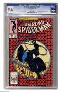 Modern Age (1980-Present):Superhero, The Amazing Spider-Man #300 (Marvel, 1988) CGC 9.6 White pages.Origin and first full appearance of Venom. Last time Spider-...