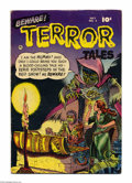 Golden Age (1938-1955):Horror, Beware Terror Tales #2 (Fawcett, 1952) Condition: VG+. Pre-Codehorror with art by Ross Andru, Bernard Baily, Bob Powell, an...
