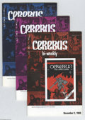 Modern Age (1980-Present):Humor, Cerebus Bi-Weekly #1-26 Group (Aardvark-Vanahem 1988-89) Condition: Average VF. The whole goldarn series right here, issues ... (Total: 26 Comic Books Item)