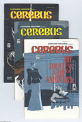 Modern Age (1980-Present):Alternative/Underground, Cerebus The Aardvark #53-111 Group (Aardvark-Vanaheim, 1983-88)Condition: VF. Fifty-nine great issues in this large lot, in...(Total: 59 Comic Books Item)