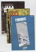 Modern Age (1980-Present):Alternative/Underground, Cerebus The Aardvark Group (Aardvark-Vanaheim, 1988-91) Condition:Average VF. Included in this lot of 30 books are copies o...(Total: 30 Comic Books Item)