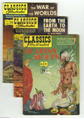 Golden Age (1938-1955):Classics Illustrated, Classics Illustrated Group (Gilberton, 1950-61) Condition: AverageVG. This group includes #8 (HRN 78), #105 (HRN 146), #124...(Total: 7 Comic Books Item)