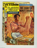 Golden Age (1938-1955):Classics Illustrated, Classics Illustrated Group (Gilberton, 1951-56) Condition: AverageVG. This group includes #2, 3, 25, 29, 46, 47, 57, 62, 80...(Total: 14 Comic Books Item)