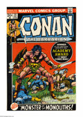 Bronze Age (1970-1979):Superhero, Conan the Barbarian #21 (Marvel, 1972) Condition: NM. Barry Windsor-Smith cover and art. Overstreet 2004 NM- 9.2 value = $40...