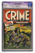Golden Age (1938-1955):Crime, Crime Does Not Pay #29 Double cover (Lev Gleason, 1943) CGC Apparent 6.0 Slight (A) Cream to off-white pages. Dick Wood, Cha...